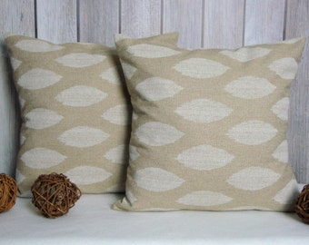 Beige Pillow. Natural Pillow. Pillow Cover. Throw Pillow Cover. Accent Pillow. Tan Pillow. Pillow. Modern Pillow. Pillows