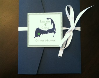 Cape Cod - Nautical Wedding Invitation