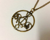 ULTIMATE FAN COMBO Necklace Harry Potter jewelry, The Mortal Instruments, Divergent and Percy Jackson