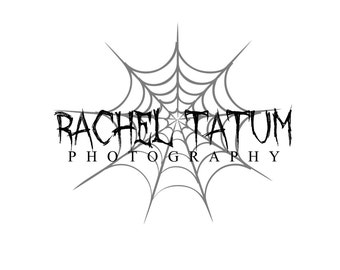 "Custom Premade Photography Logo and Watermark ""Spider"" - Limited Quantity and Special Edition Logo"