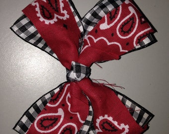 Hairbow Set of 2 for Cowgirl Outfit