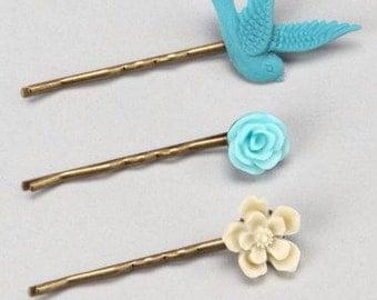 3 piece bobby pin set