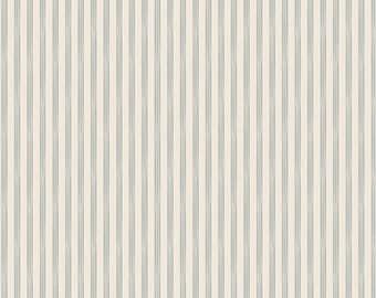 TILDA - Rough Stripe Blue - 1/2 yard