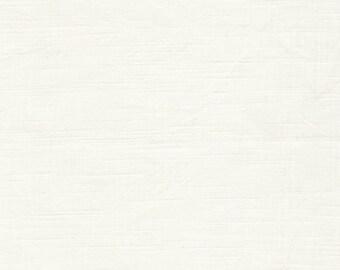 Textured Solid - White Lies - 1/2 yard