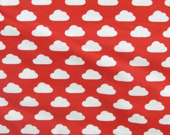 Per Yard, Toy Tales Cloud Fabric