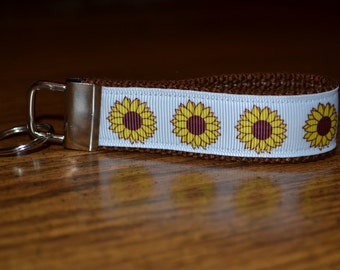 SALE! Sunflowers Keychain