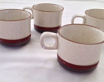 Denby Pottery English Mugs 1980s