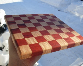 Checkers game board solid wood game board / Chess game board with exotic and domestic woods