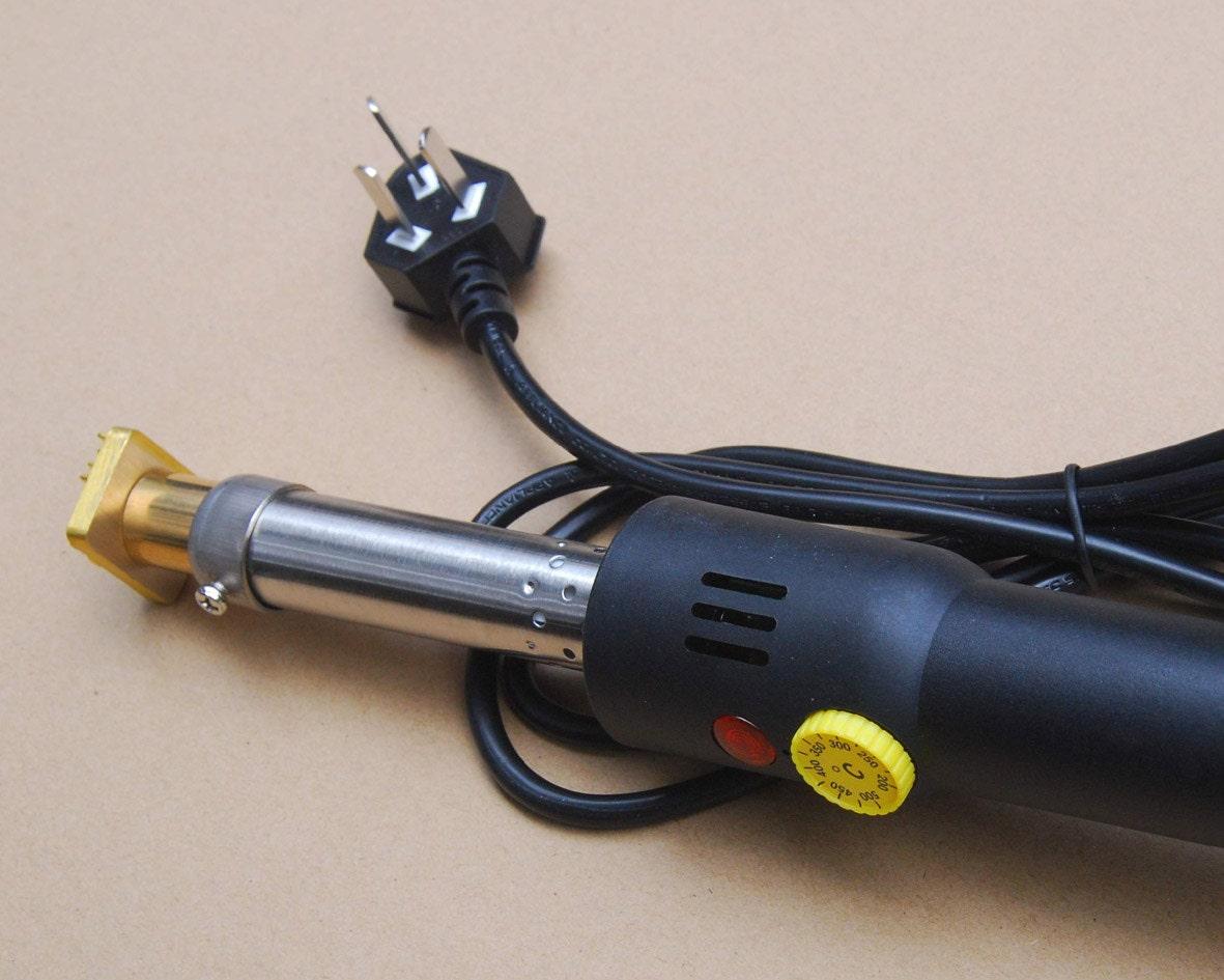 Temperature Adjustable Custom Wood Branding Iron with electric heater ...