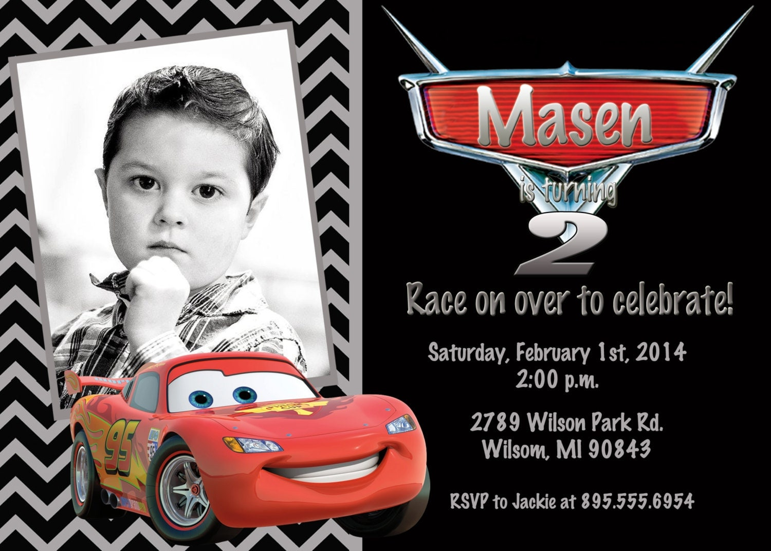 Cars Invitation Template 4445 Awesome Free Printable 3