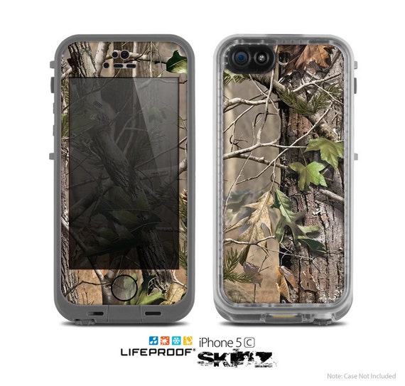 camo lifeproof case iphone 5c the real woods and trees camouflage skin for the by 16751