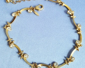 Darling Clear Crystal Gold BRACELET