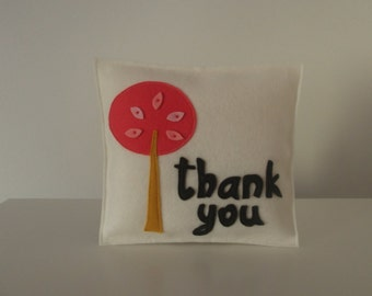 Thank you gift pillow