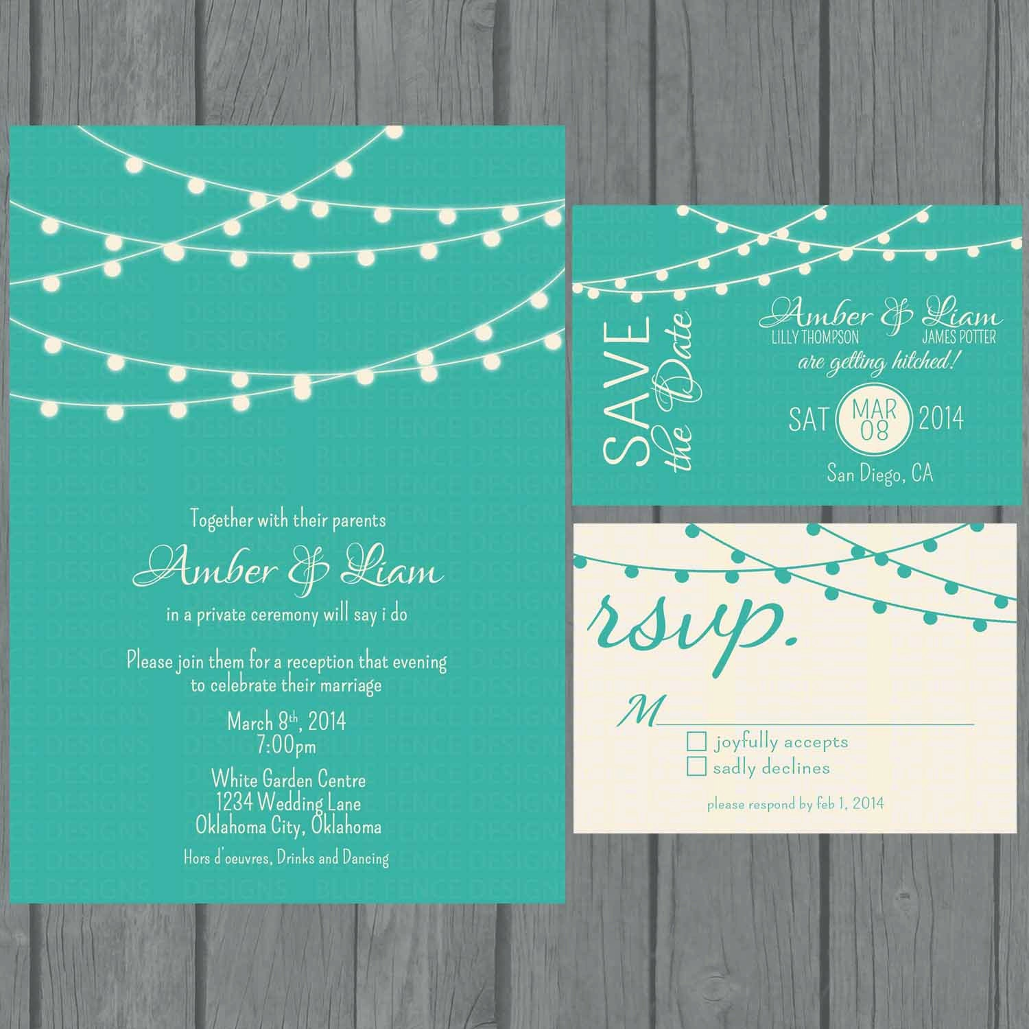 Simple Modern Wedding Invitation Wording