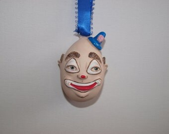 Clown. Easter Bauble. Hanger. Character