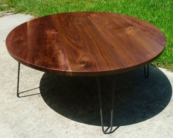 "The ""Sencillo"" Coffee Table w/ hairpins"