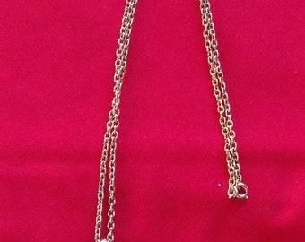 Vintage Emmons Necklace Pendant & Chain