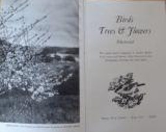Birds Trees & Flowers Illustrated, Brian Vesey-Fitzgerald