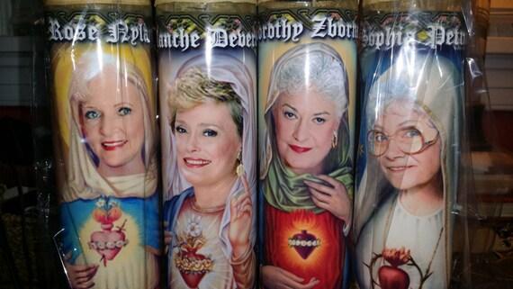 4 Golden Girls Candle Set Dorothy Sophia By