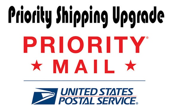 Upgrade Shipping Service to Priority Mail