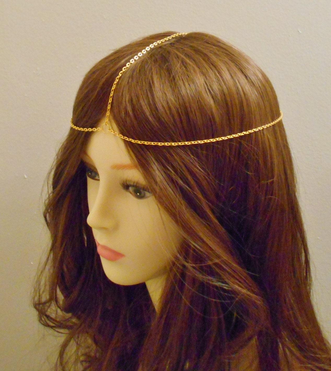 Simple Head Chain Head Jewelry Chain Chain Headpiece Chain