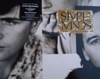 Simple Minds- Once Upon A Time- vinyl record