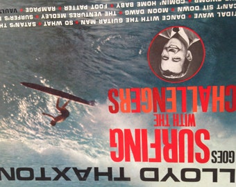 Lloyd Thaxton - Goes Surfing With The Challengers - vinyl record