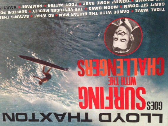 Lloyd Thaxton Goes Surfing With The Challengers Vinyl