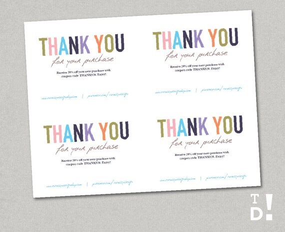 free after purchase card template 28 images thank you card