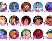 Aladdin 1 inch Bottle Cap Images (4x6)