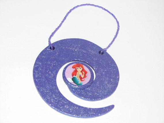 Princess ariel christmas ornament girls princess by for Ariel christmas decoration