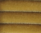 ETSY SPECIAL - 9.95 - Quality 600S - Mohair - 1/6 yard (Fat) in Intercal's Color 347S-Golden Tan. A German Mohair Fur Fabric