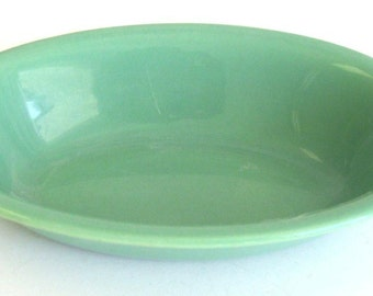 Franciscan El Patio Oval Vegetable Bowl Apple Green