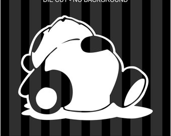 Sleeping Panda Sticker Die Cut Decal Self Adhesive Vinyl jdm drift lazy