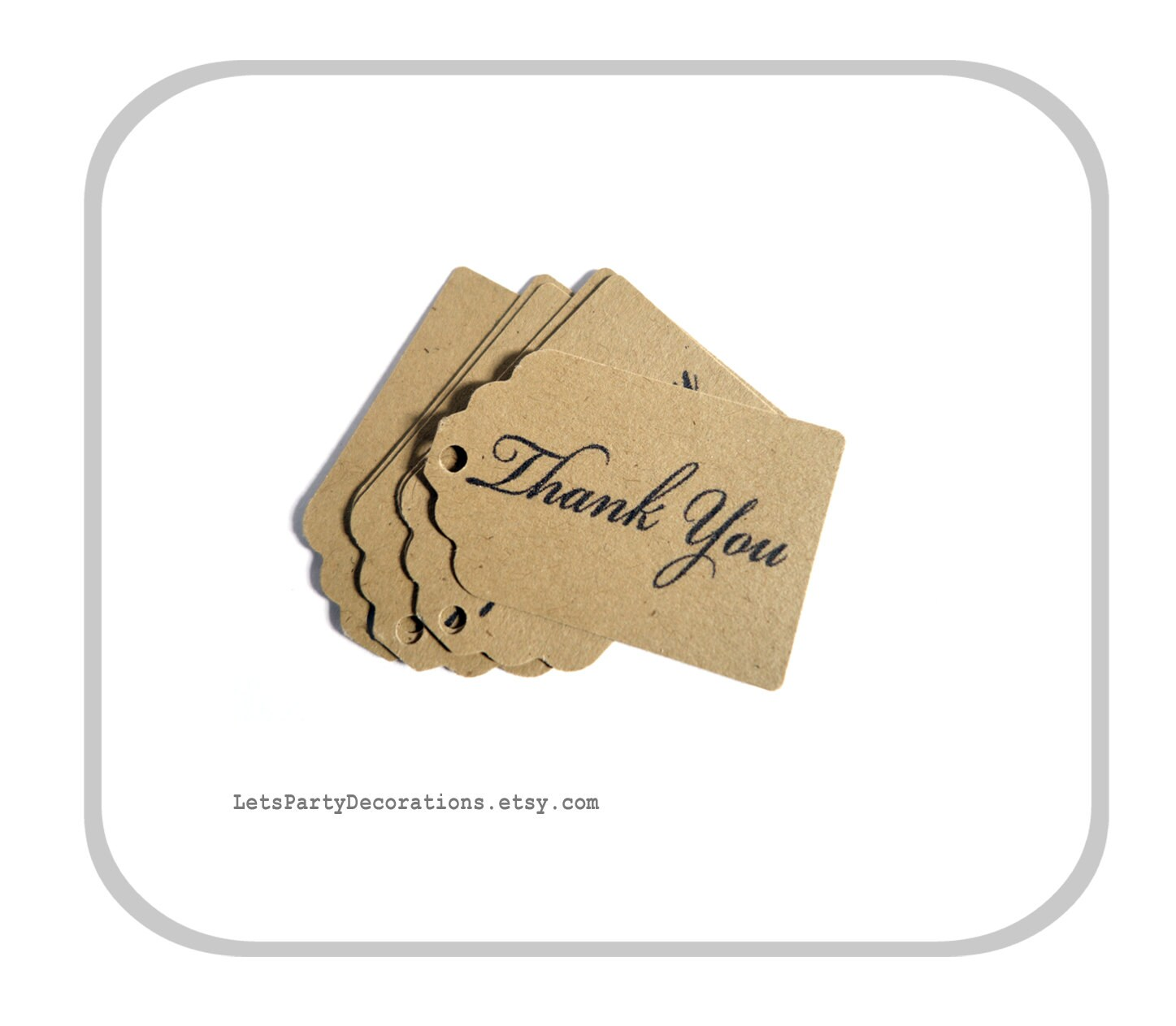 Favor tags wedding small favor tags thank you tags kraft for Small tags for wedding favors
