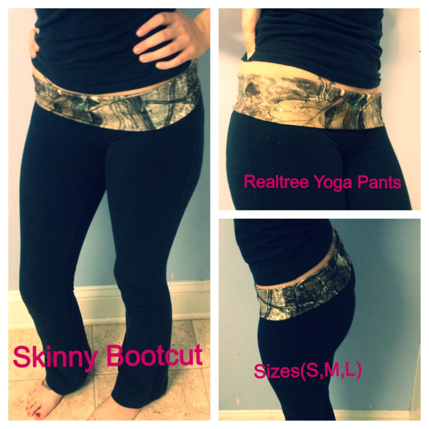 Realtree Camo Yoga Shorts Color Options By Girlswithguns22