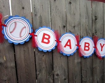 Baseball Baby Shower Banner
