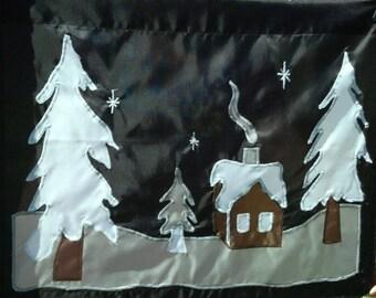 Winter's Night - Garden Flag