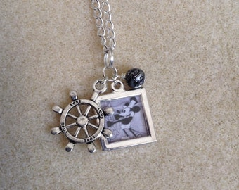 Steamboat Willie Necklace