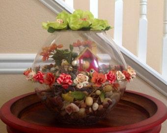 Floral Globe Centerpiece