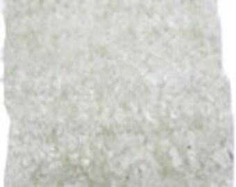 White crochet tutu top, 8 inch fuzzy chenille tube top / tutu top.
