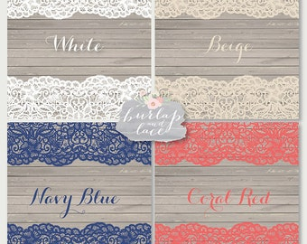 Vector Lace border rustic, Wedding invitation border, frame, lace clipart, white lace wedding invitation, shabby chic clipart, vintage lace