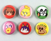 Animal Crossing New Leaf Buttons/Pins