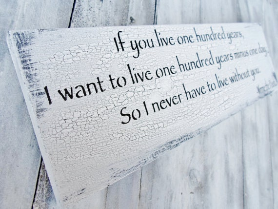 If You Live 100 Years Winnie The Pooh Quote By