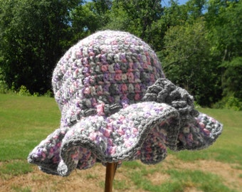 Crochet Summer Hat, Sun Hat, Beach Hat, Anytime Hat for Ladies and Girls