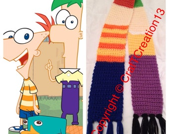 Phineas and Ferb inspired Scarf