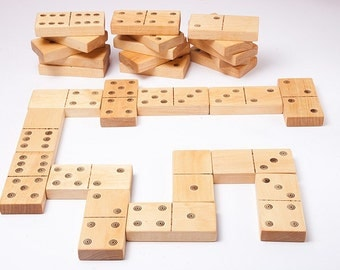 wooden domino, eco friendly toy, kids wooden toys, dominoes game, educational toy, math game