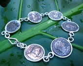 Empire ... Authentic Antique Roman Coin Bracelet