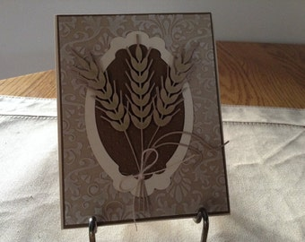 Winter Wheat Card
