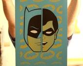 Batman and Robin - Adam West Edition Screen Print